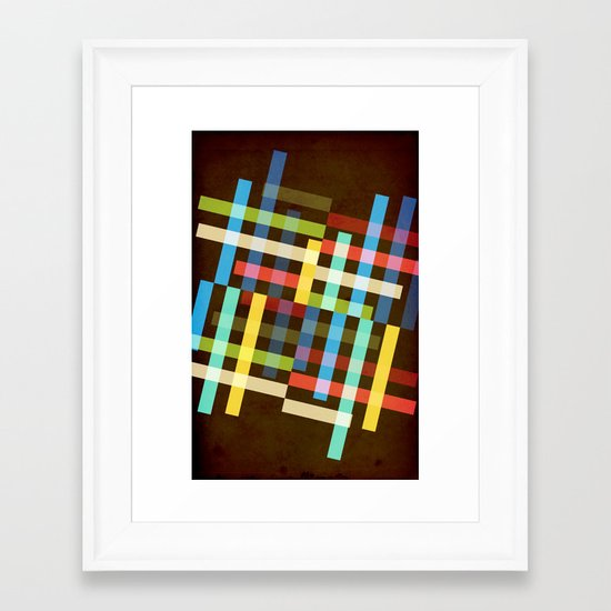 Up and Sideways Framed Art Print