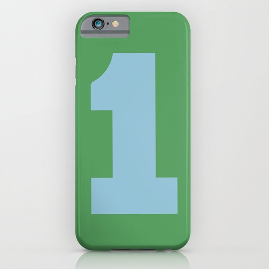 Number 1 iPhone & iPod Case