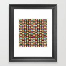 STACK Framed Art Print