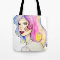 Locks Of Color Tote Bag