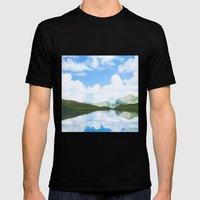 On A Clear Day Mens Fitted Tee Black SMALL