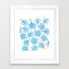 Palm Leaf Framed Art Print