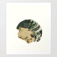 The Statue Art Print
