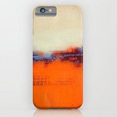 Orange and White iPhone 6 Slim Case