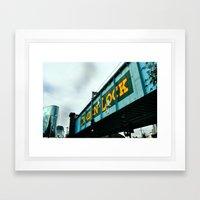 London Camden Town Rail … Framed Art Print