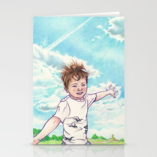 Flight Stationery Card