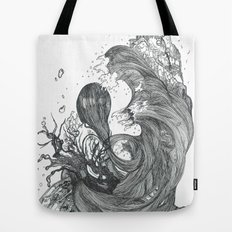 Eatsleepdraw cover art - liquid theme Tote Bag