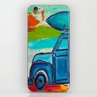 Let's Go Surfing iPhone & iPod Skin