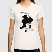 The Moment You Doubt You Can Fly Womens Fitted Tee Natural SMALL