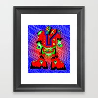 Sgt. Spikes Framed Art Print