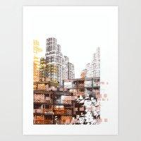 City scape I Art Print