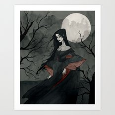 Annabel Lee Art Print