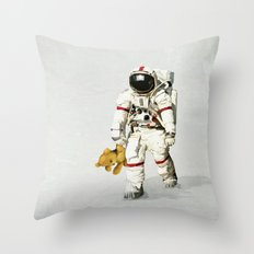 Space Can Be Lonely Throw Pillow