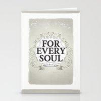 Every Soul Stationery Cards