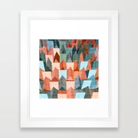 Shout It From The Roofto… Framed Art Print