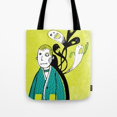 Everybody Has a Ghost or Two Tote Bag