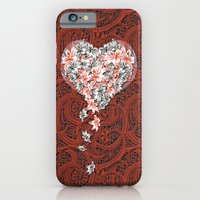 iPhone & iPod Case featuring Pattern lovers by Sedef Uzer