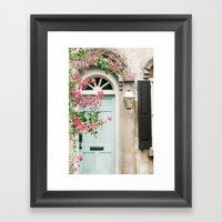 Charleston Doorway Framed Art Print