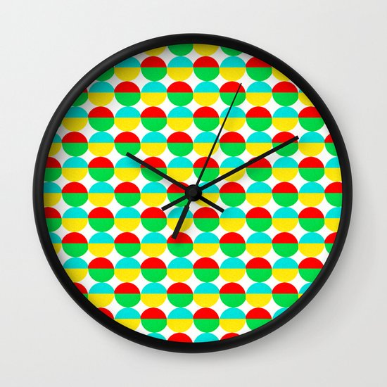 Van Abbe Pattern Wall Clock