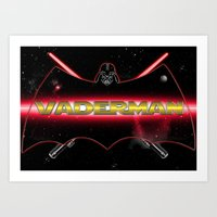 Vaderman Art Print