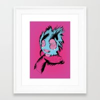 Funny Guy Framed Art Print