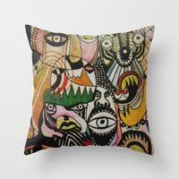 Jungle Boogie Throw Pillow