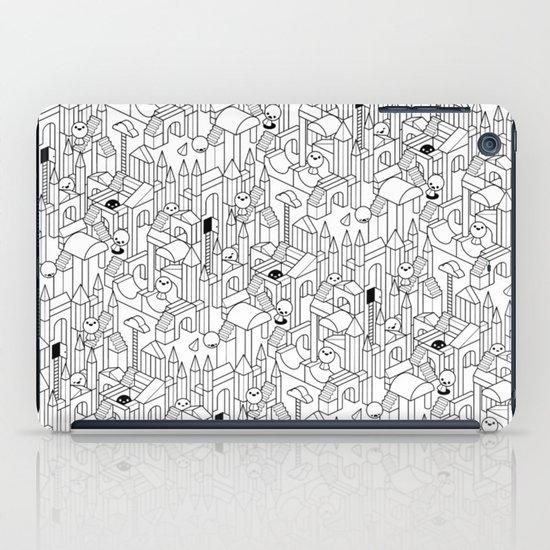 Little Escher's Building Blocks iPad Case