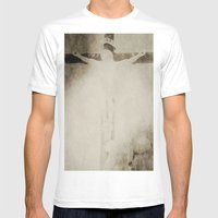 Touched By Grace Mens Fitted Tee White SMALL