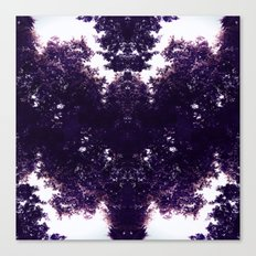 Purple Dragon Canvas Print
