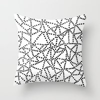 Dots Throw Pillow