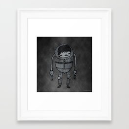 Framed Art Print - Cyborg Robot Zombie-boy - Masanori Toda