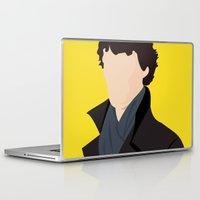 sherlock Laptop & iPad Skins featuring Sherlock by Jessica Slater Design & Illustration