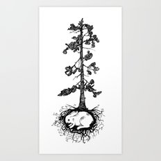 Great Pine Art Print