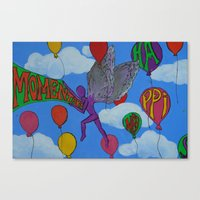 Momentary Happiness.  Canvas Print