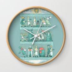 Tapisserie de Arrrgggh Wall Clock