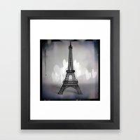 La Ville De L'amour Framed Art Print