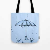 Rain Rain Go Away! Tote Bag
