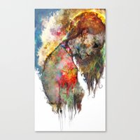 what's left of me Canvas Print