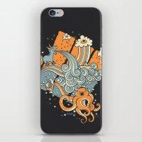 El viaje de Carlitos iPhone & iPod Skin