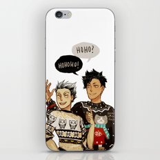 Hohoho? iPhone & iPod Skin