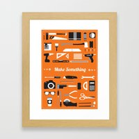 Make Something! Framed Art Print