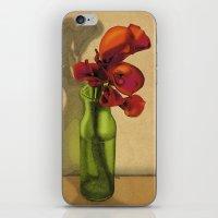 Calla lilies in bloom iPhone & iPod Skin