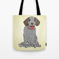 Dog Style Tote Bag