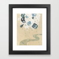 Out Of All Them Bright S… Framed Art Print