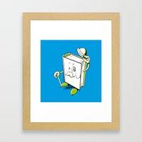 The elegant book Framed Art Print