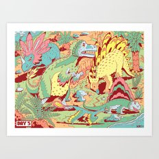 Birds of Paradise Art Print