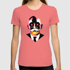 Automata Womens Fitted Tee Pomegranate SMALL