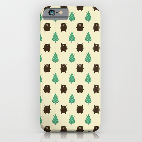 Bears and Trees iPhone & iPod Case