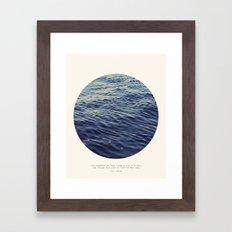 You or Me Framed Art Print