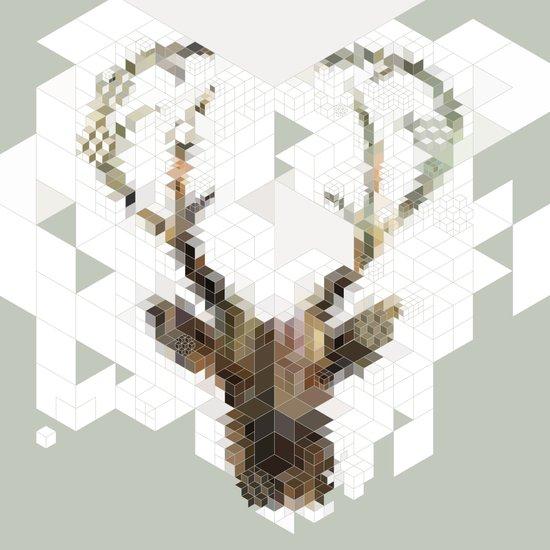 Deer Architect Art Print